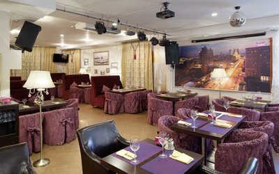 Банкетный зал кафе Альбомъ на Новой Басманной улице
