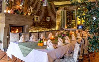 Банкетный зал ресторана Вилла Паста (Villa Pasta) на Пятницкой улице