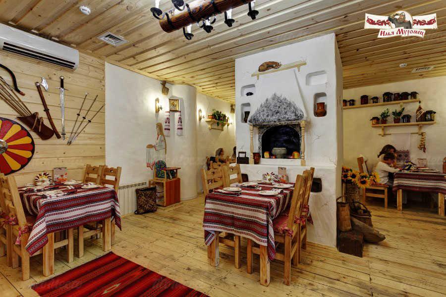 Меню ресторана Илья Муромец на Преображенской улице