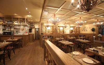 Банкетный зал ресторана Паприколли на улице Красина