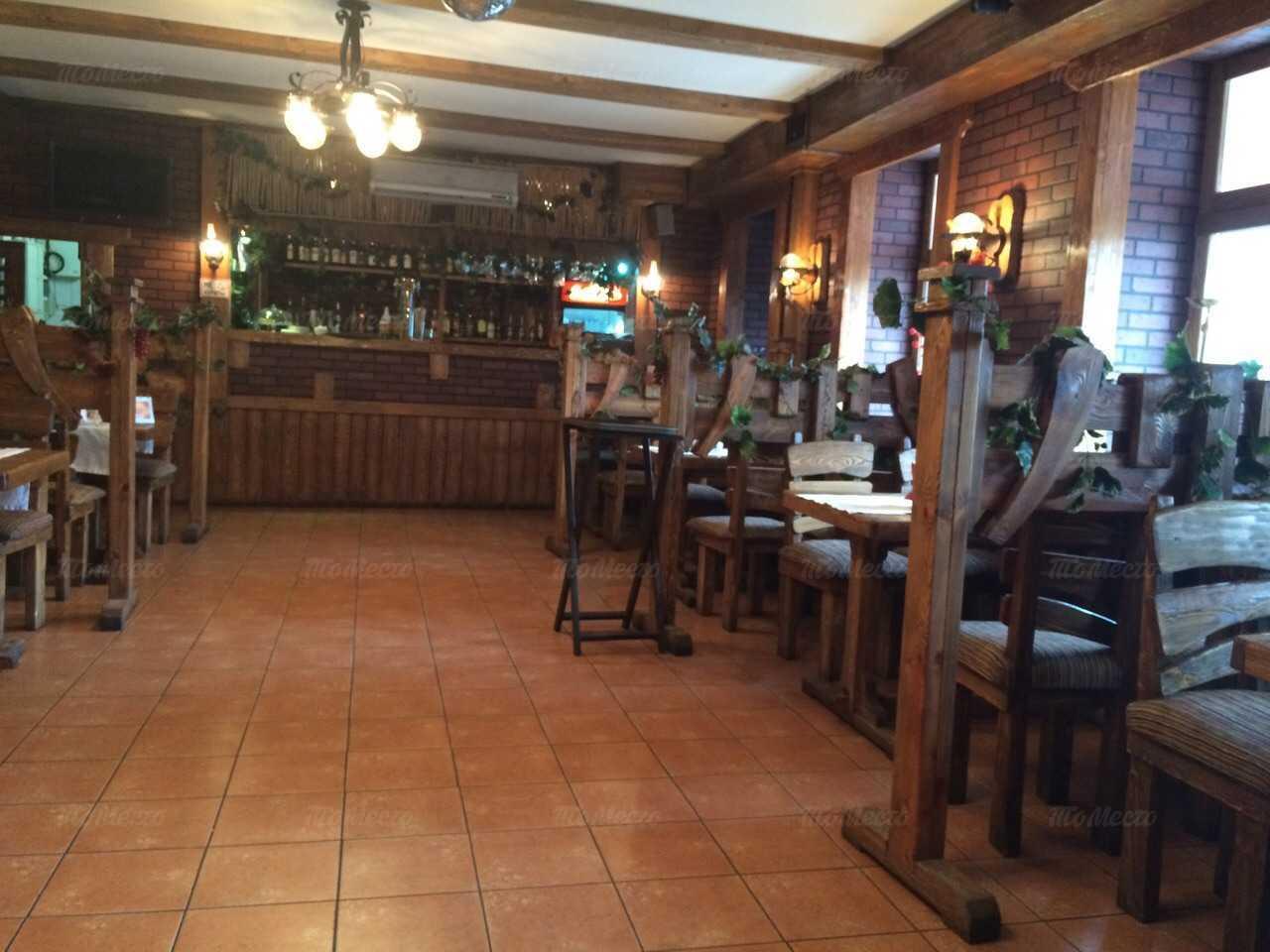 Меню кафе Старый дворик на Днепропетровской улице