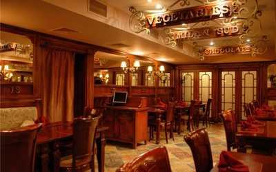 Банкетный зал ресторана Примавера (бывш. VIP -Траттория) в проезде Дежнева