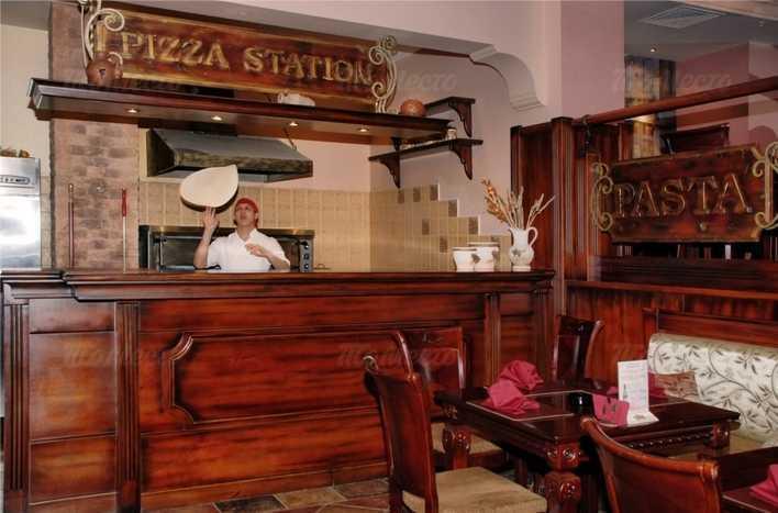 Меню ресторана Примавера (бывш. VIP -Траттория) в проезде Дежнева