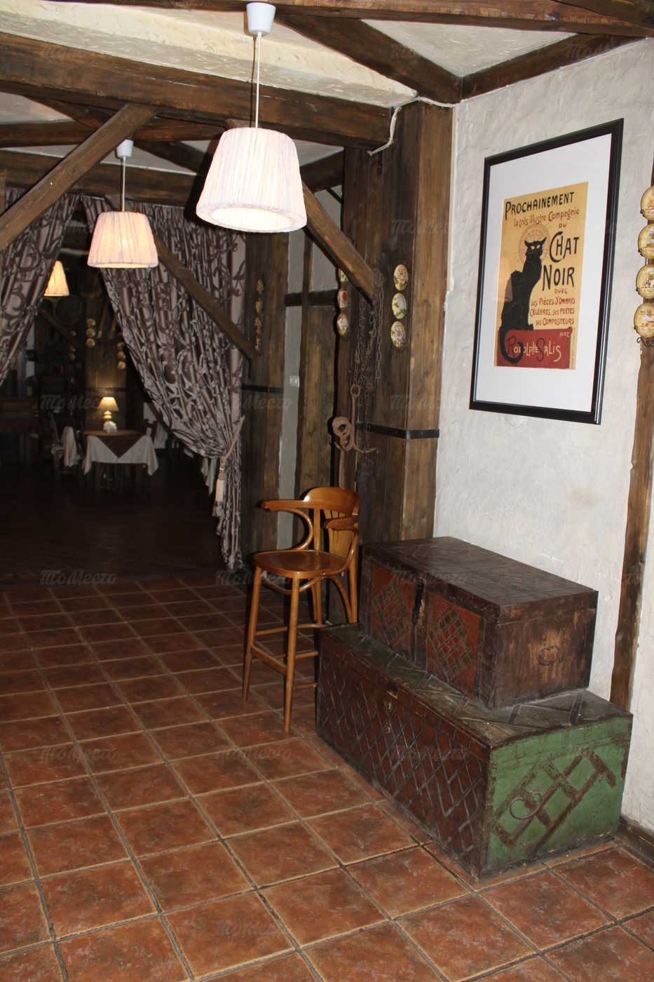 Меню ресторана Старая мансарда на улице Усачева