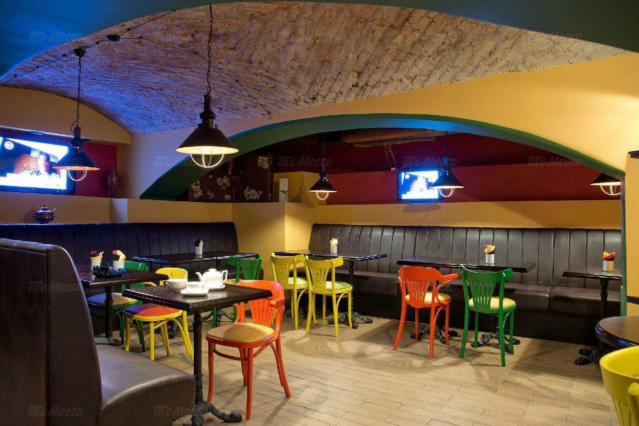 Меню паба, пивного ресторана Брассерия Palm (Палм) на Большой Конюшенной улице