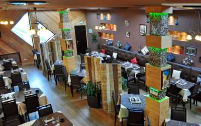 Банкетный зал ресторана Rustico (Рустико) на Мякининском шоссе