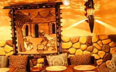 Банкетный зал ресторана Congo (Конго) на улице Жуковского