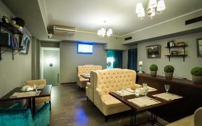 Банкетный зал кафе Бенуа на улице Волхонка