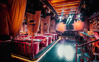 Банкетный зал ночного клуба, ресторана CaVa (бывш. Малинки) на Фурштатской улице фото 2