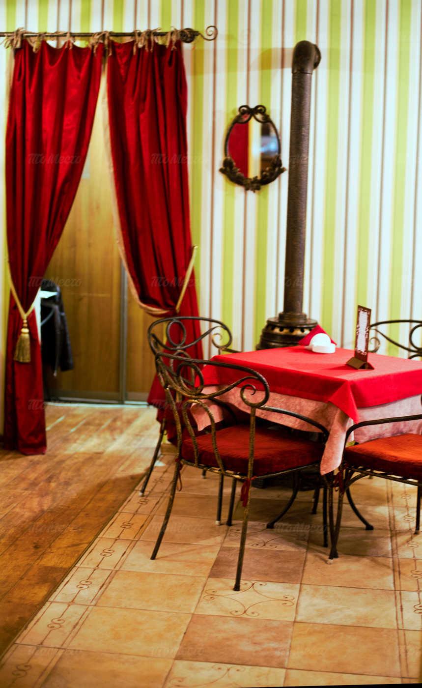 Меню кафе Гоголь-Моголь в Гагаринском переулке