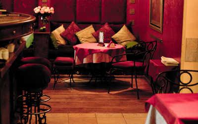 Банкетный зал кафе Гоголь-Моголь в Гагаринском переулке