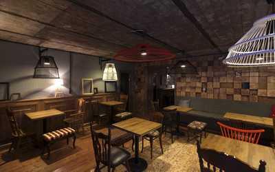 Банкетный зал бара, кафе The Living Room в Большой Зеленине улица