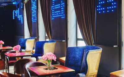 Банкетный зал бара, ресторана FF Bar на улице Тимура Фрунзе