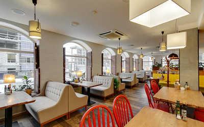 Банкетный зал ресторана Теплые Края на Малом проспекте В.О. фото 3