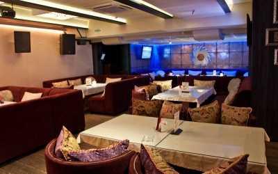 Банкетный зал караоке клуба, кафе Чайхана Инжир (бывш. Бричмулла) на Петрозаводской улице