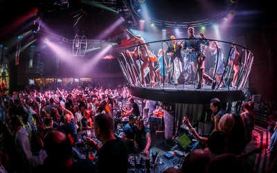 Банкетный зал ночного клуба Артек на улице Черняховского фото 3