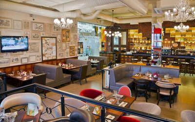 Банкетный зал пивного ресторана Ян Примус на Снежной улице