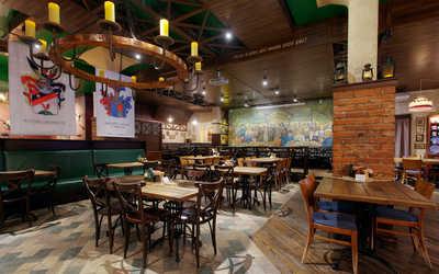 Банкетный зал пивного ресторана Pan Smetan на Восточной улице