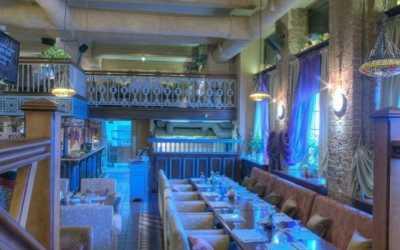Банкетный зал ресторана Хмели Сунели на улице Ленина