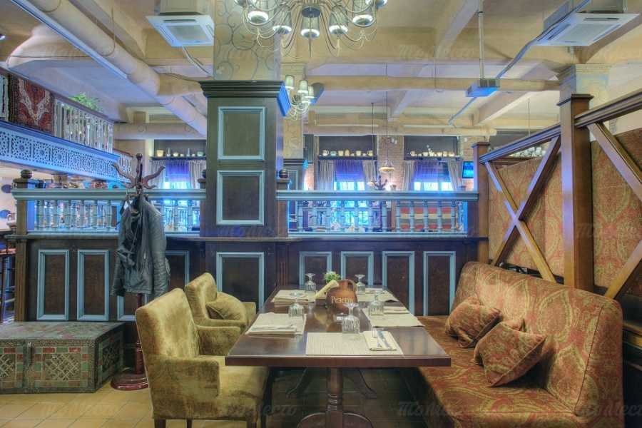 Меню ресторана Хмели Сунели на улице Ленина