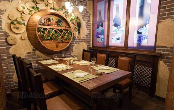 Меню ресторана Гуливани на Гурзуфской улице