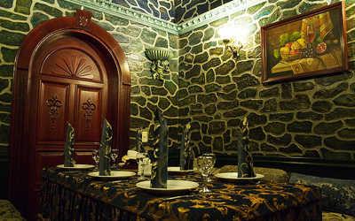 Банкетный зал ресторана Армения на улице Стрелочников