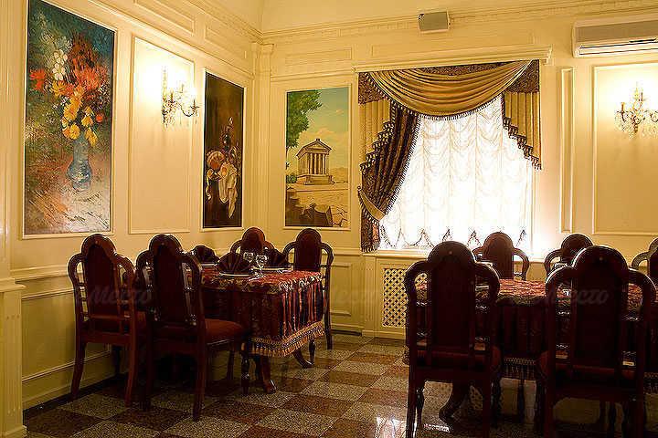 Меню ресторана Армения на улице Стрелочников