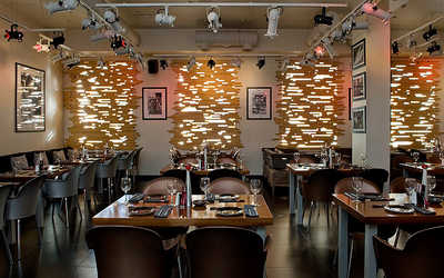 Банкетный зал бара, кафе, ресторана Япона мама на улице Радищева