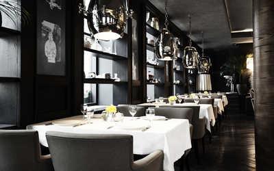 Банкетный зал ресторана Бабель в 1-м Николощеповском переулке