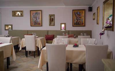Банкетный зал ресторана Bella Grotta (Белла Гротта) на Большой Бронной улице