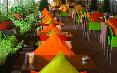 Банкетный зал кафе, ресторана Кебабберия на Кутузовском проспекте
