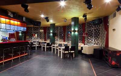 Банкетный зал бара, ресторана Bamboo (Бамбу) на улице Татищева