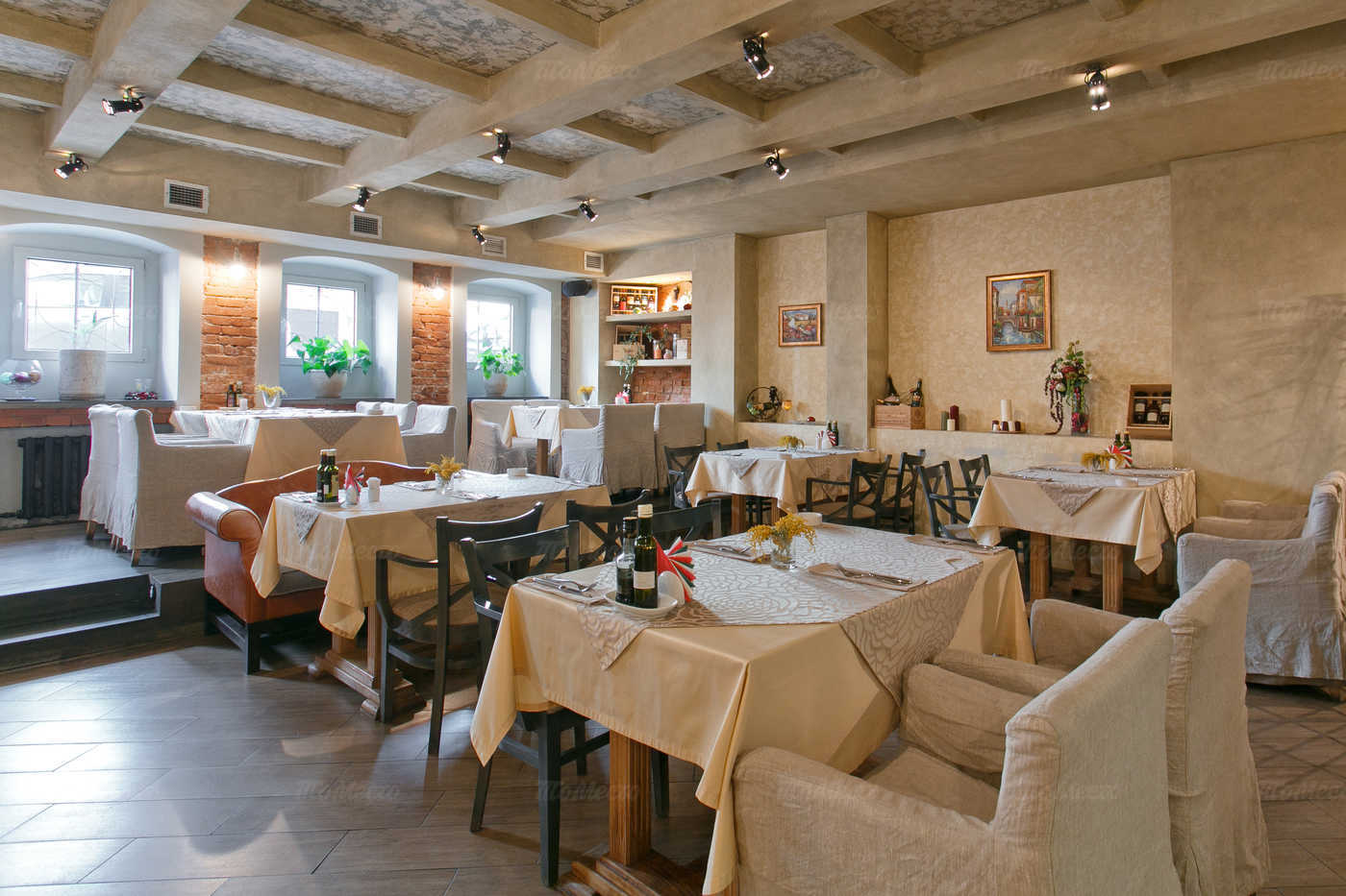 Меню ресторана Bocco di Bacco на 1-й Брестской улице