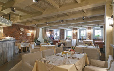 Банкетный зал ресторана Bocco di Bacco на 1-й Брестской улице фото 1