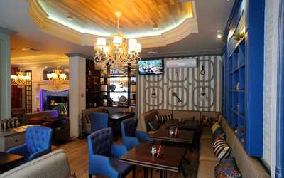 Банкетный зал кафе Коттедж на Заводской улице