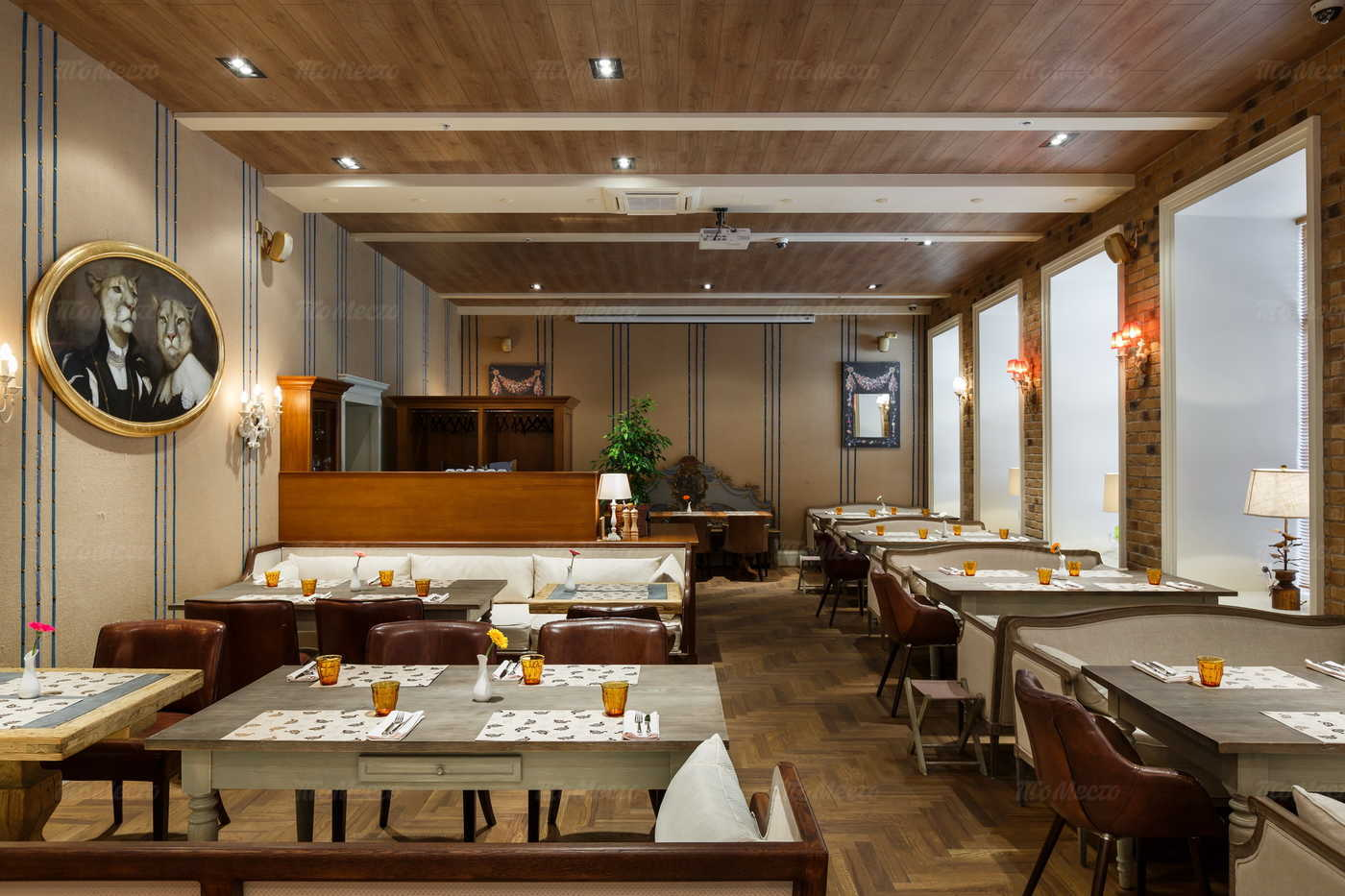 Меню ресторана Жирная утка на улице Марата