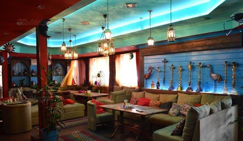 Меню бара, ресторана Marrakesh (Марракеш) на улице Куйбышева