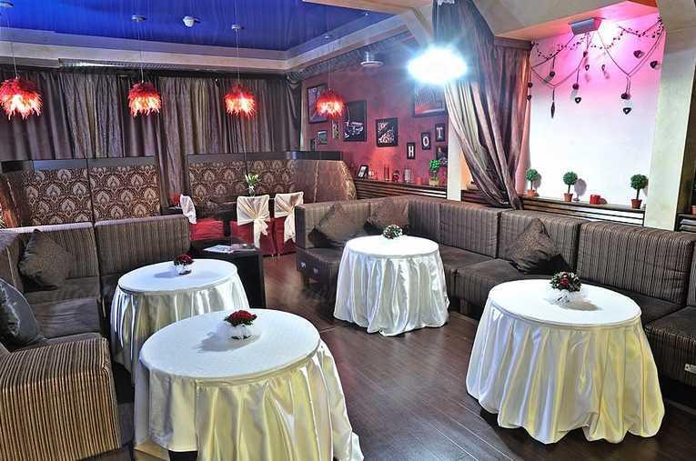 Меню бара, кафе Маракана на Московской улице