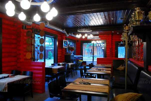 Меню ресторана Самовар на Коммунистическом проспекте