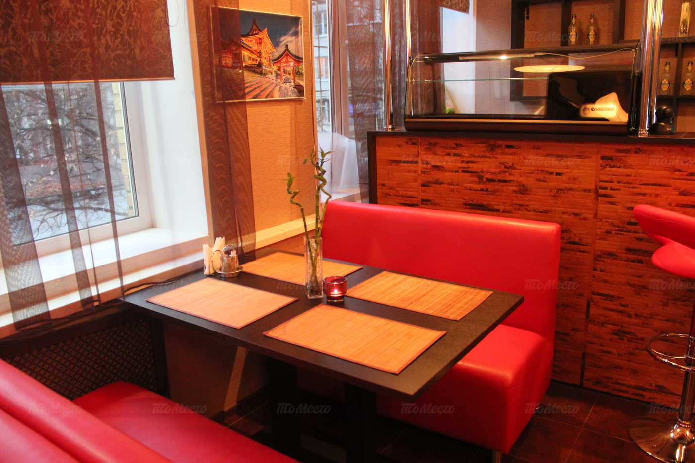 Меню кафе Ямато на Бойцовой улице