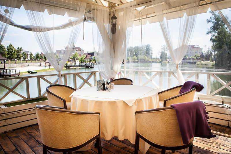 Меню ресторана Озеро на Пасторском Озере