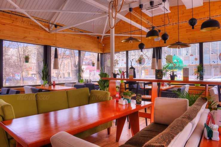 Меню кафе Пан Азиат на Большой Садовой улице