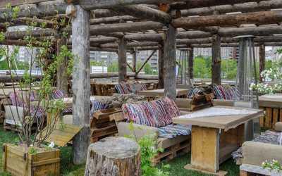Банкетный зал ресторана Гуси-Лебеди на Коломяжском проспекте фото 3