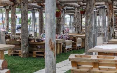 Банкетный зал ресторана Гуси-Лебеди на Коломяжском проспекте фото 2