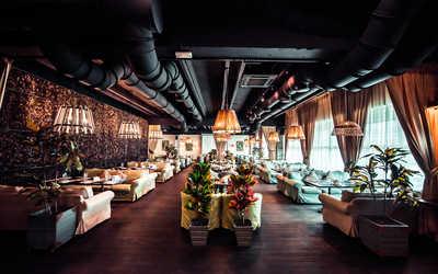 Банкетный зал ресторана Сытый лось в Коломенском проезде
