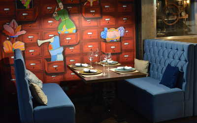 Банкетный зал ресторана Паулинг на Большой Садовой
