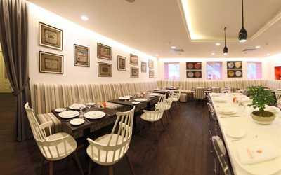 Банкетный зал ресторана Cinq Sens (Пять чувств) в Звенигородском фото 1