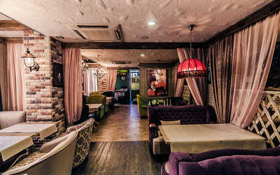 Банкетный зал бара Basilico bar (Базилико бар) в Белинскоге