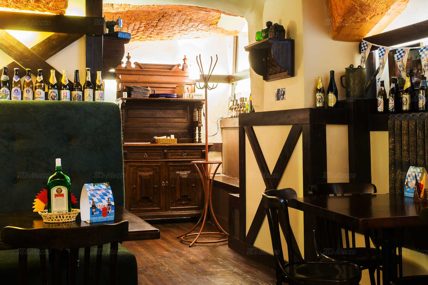 Меню пивного ресторана Кнайпе Jager Haus (Ягер Хаус) в Итальянской
