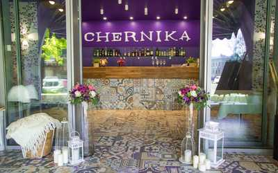 Банкетный зал ресторана Chernika (Черника) на Финляндском проспекте